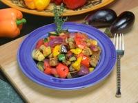 Капоната (тушеные овощи по-сицилийски)